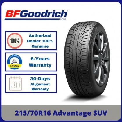 215/70R16 BFGoodrich Advantage SUV *Year 2020/2021