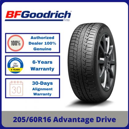 205/60R16 BFGoodrich Advantage Drive *Year 2021